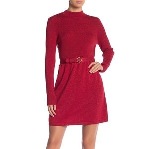 NWT Free People French Girl Sweater Minidress